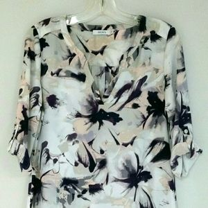 Ricki's Floral Long Blouse